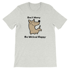 Don't Worry - Unisex Short Sleeve Jersey T-Shirt