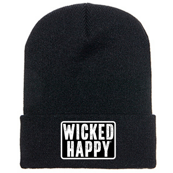 Long Style West Coast Beanie - Black