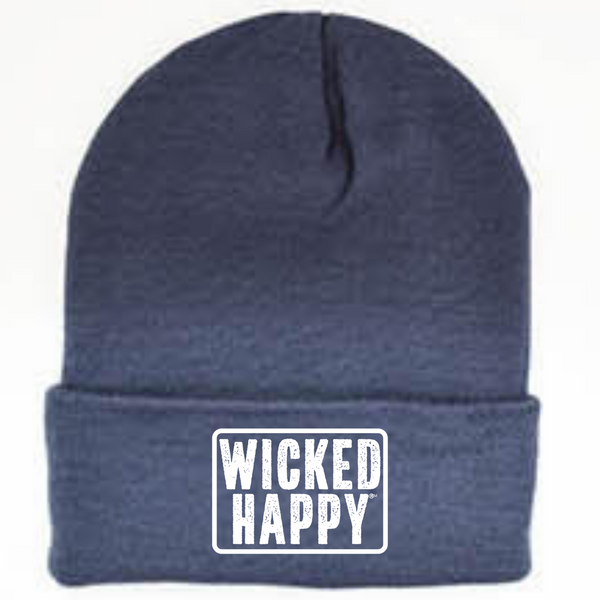 Long Style West Coast Beanie - Dark Blue