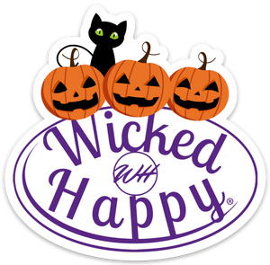 Wicked Happy Signature Stickers - Halloween