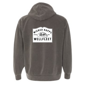 Wellfleet Oysterfest Welcome Sign Hoodie - Wholesale