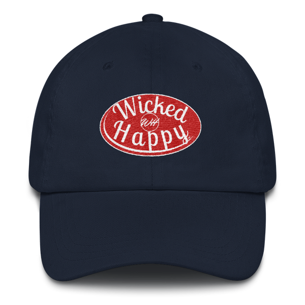 Signature Logo Cap - Navy/Red Logo