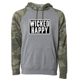 Wicked Happy - West Coast - Nickel Heather/ Forest Camo