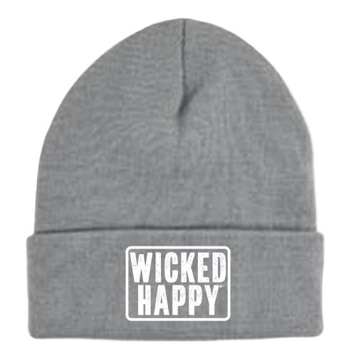 Long Style West Coast Beanie - Light Gray