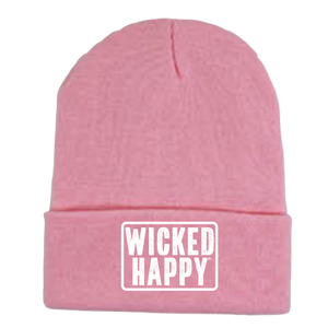 Long Style West Coast Beanie - Dark Pink
