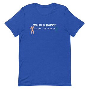 Wicked Happy Distance Dancers - Short-Sleeve Unisex T-Shirt