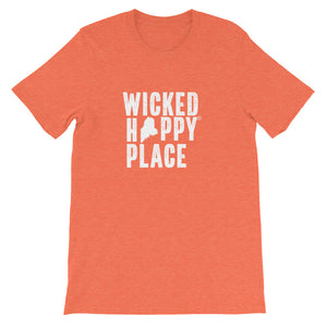 Maine-Wicked Happy Place Unisex T-Shirt