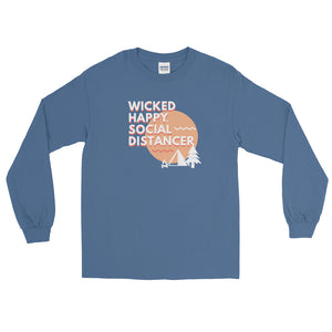 Wicked Happy Social Distancer Long Sleeve Shirt