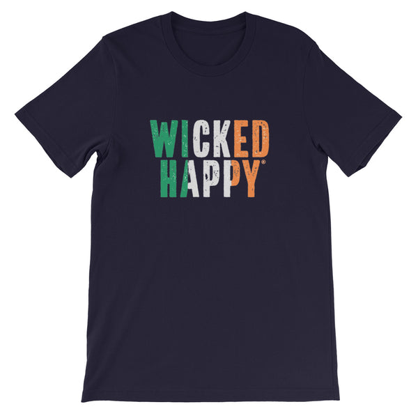 Wicked Happy St. Patty's Day! - Unisex Short Sleeve T-Shirt
