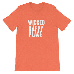 New Hampshire-Wicked Happy Place Unisex T-Shirt