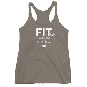FITish - Women's Triblend Racerback Tank