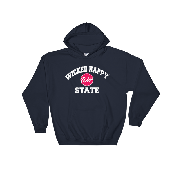 Wicked Happy State - Hooded Sweatshirt