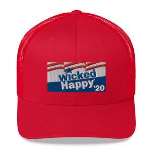 Vote Wicked Happy in 2020 - Trucker Cap