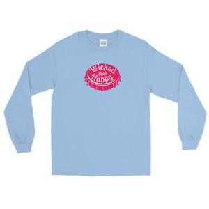 Wicked Happy Bottle Cap - Ultra Cotton Long Sleeve T-Shirt