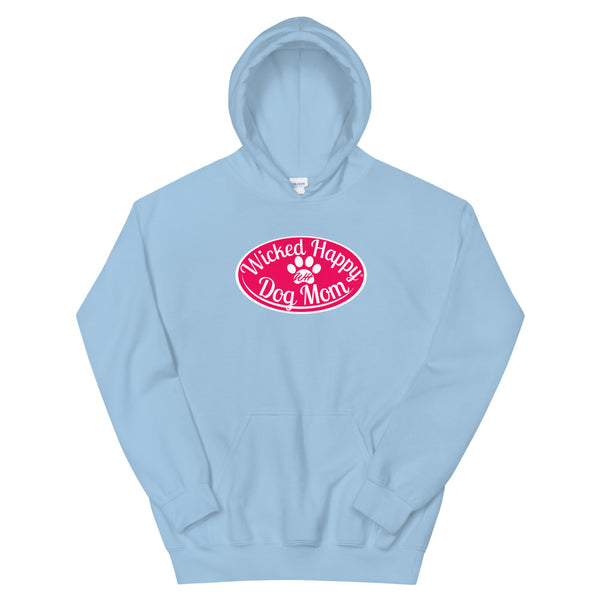 Wicked Happy Dog Mom - Hoodie - Red Logo