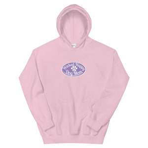 Wicked Happy Dog Mom - Hoodie - Lavender Logo
