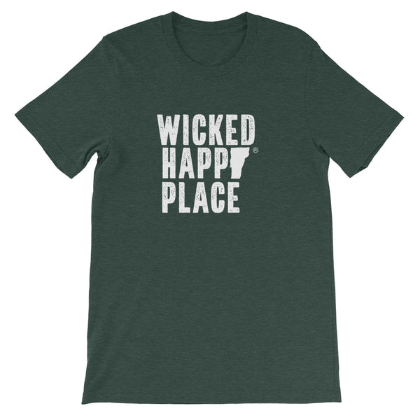 Vermont-Wicked Happy Place Unisex T-Shirt