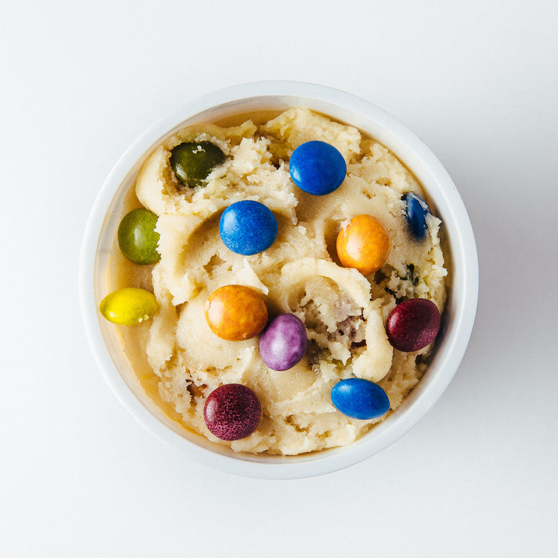Candy Crush edible cookie dough by Edoughble