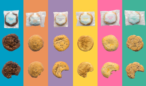 baked cookies 6 flavors by Edoughble
