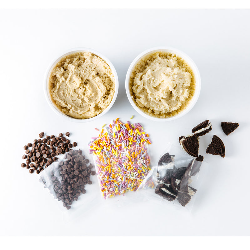 Dough-It-Yourself edible cookie dough kit, Edoughble