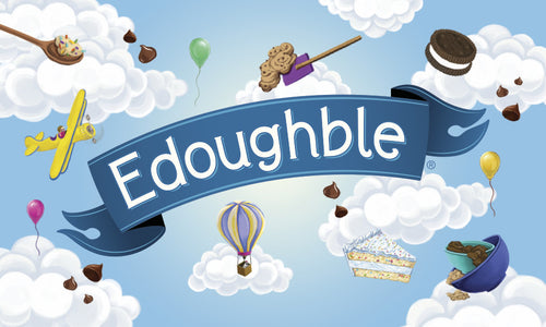 edible cookie dough gift card, Edoughble