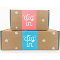 Edible cookie dough package box