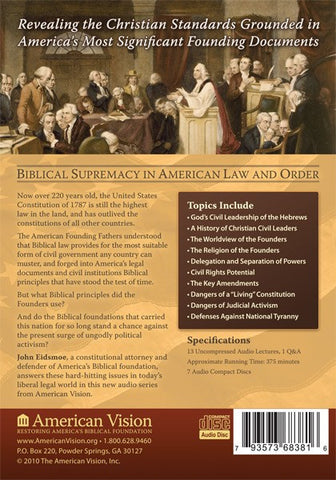 The Biblical Principles of the United States Constitution