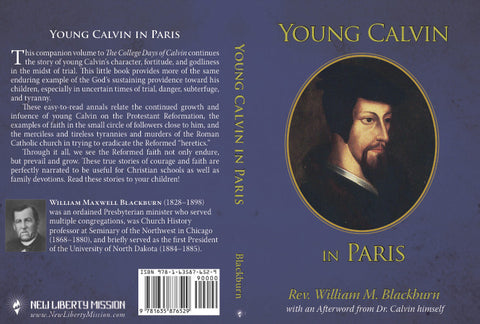 Young Calvin in Paris