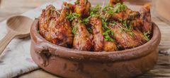 Grilled Hot Wings Recipe