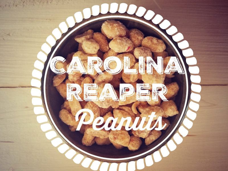 Smokin' Ed's Carolina Reaper® Peanuts 6 oz.
