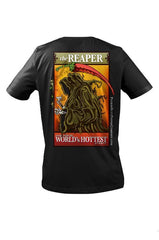 PuckerButt Black T-Shirt (Small) -  Smokin' Ed's Carolina Reaper® Edition