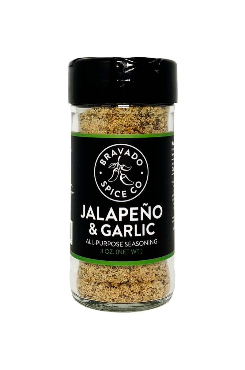 Bravado Spice Jalapeno and Garlic Seasoning