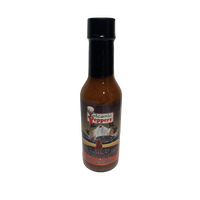 Volcanic Peppers Scott's Scorchin' Ghost Hot Sauce