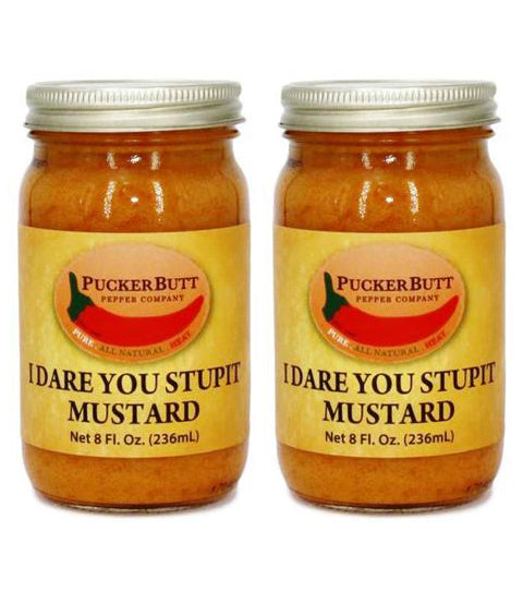 2 for $16 I Dare You Stupit Mustard