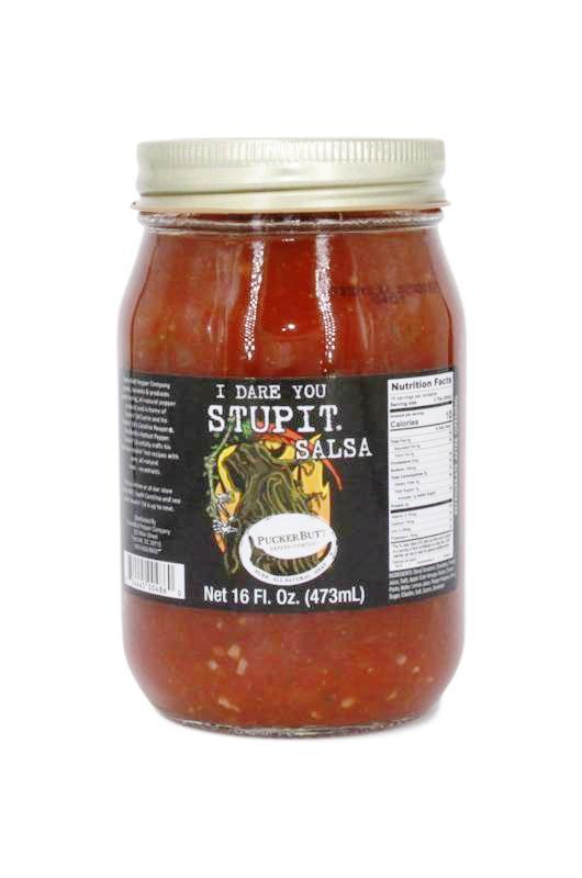 PuckerbuttPepper, I Dare you Stupit Salsa, Carolina reaper