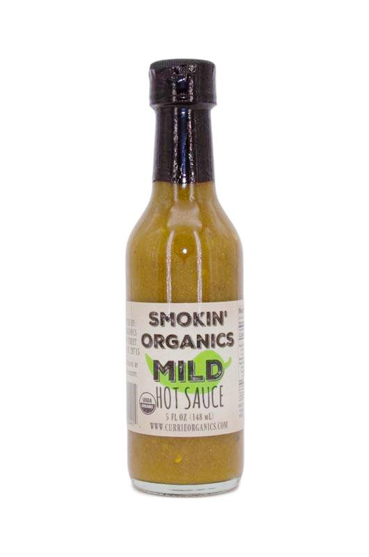 PuckerbuttPepper,all natural,Smokin' Organic Mild Hot Sauce,USDA Organic