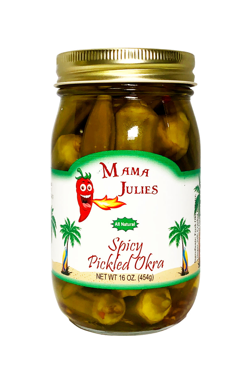 Mama Julies Spicy Pickled Okra