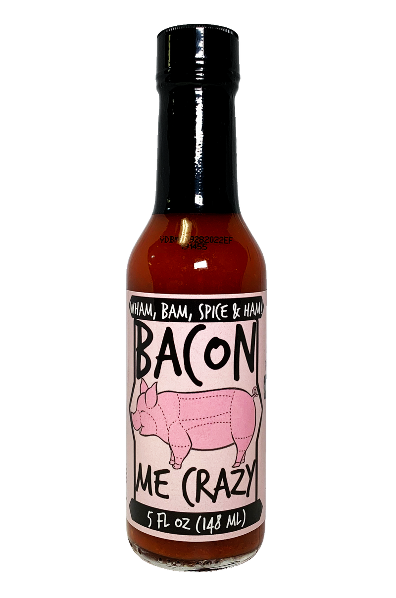 Bacon Me Crazy Hot Sauce