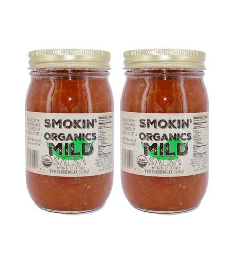 2 for $16 Smokin' Organic Salsa- Mild