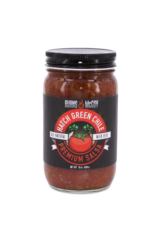 Burns and McCoy Hatch Green Chile Salsa