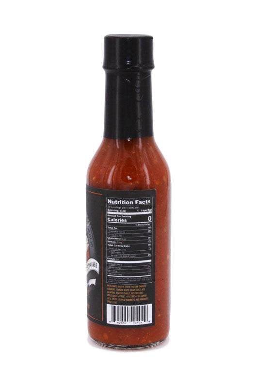 Burns and McCoy Smoked Habenaro Roasted Garlic Hot Sauce