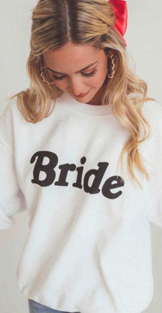 F+S: Bride Corded Sweatshirt