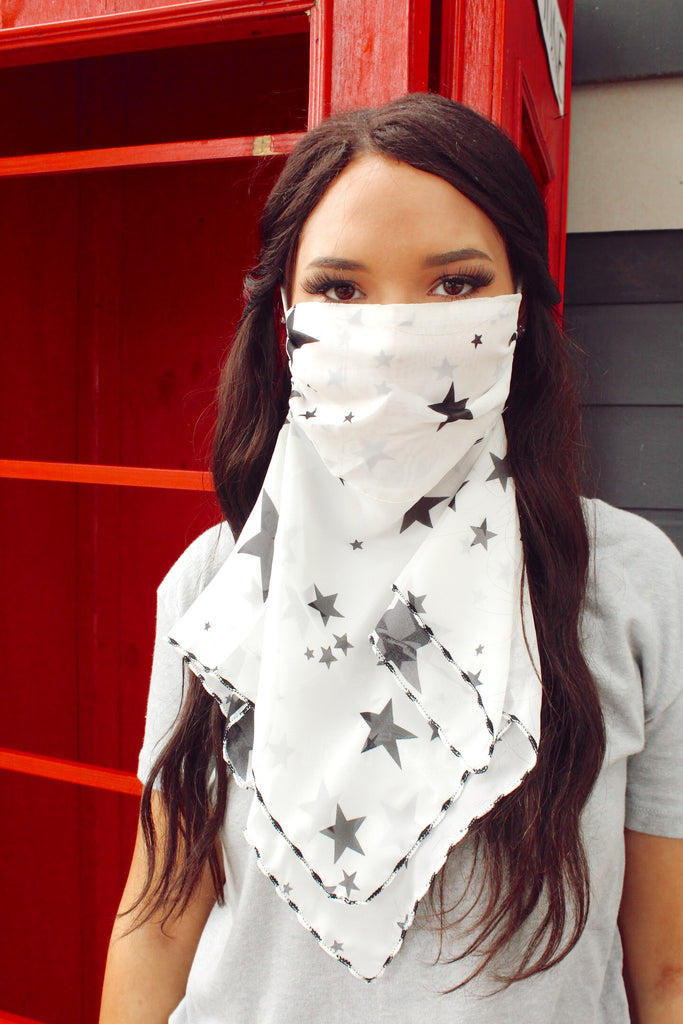 Superstar Mask/Hair Scarf