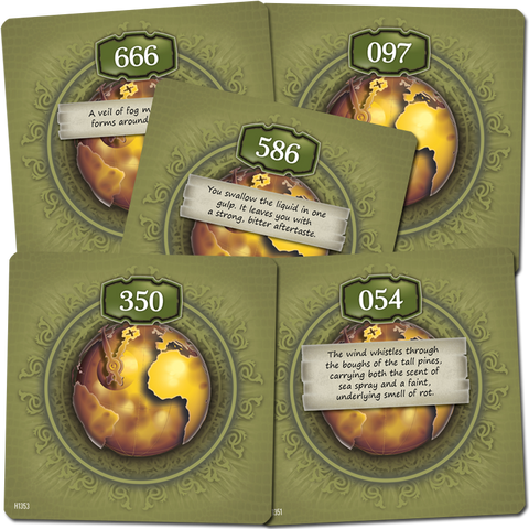 The 7th Continent: BGG Promo Cards