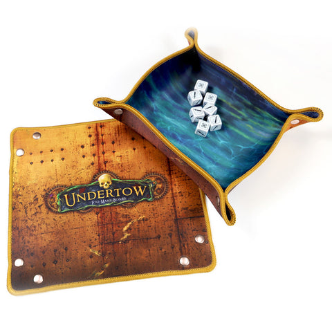 Chip Theory Games Control 'Ur Roll Dice Tray - Too Many Bones Undertow