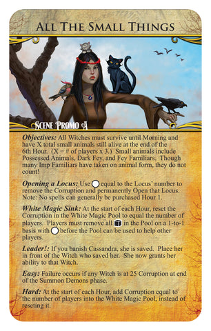 Approaching Dawn: The Witching Hour - All the Small Things Promo Card