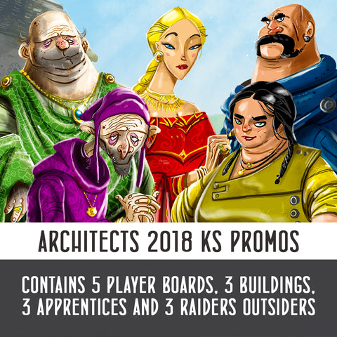 Architects of the West Kingdom: Kickstarter Promo Set
