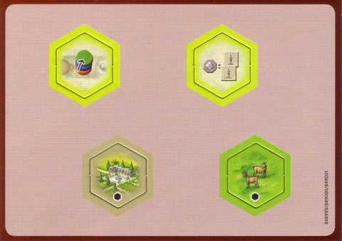 Castles of Burgundy: 2nd Expansion - New Hex Tiles