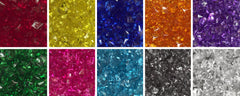 Translucent Plastic Gems - 12 mm - Bag of 50