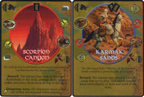 Defenders of the Realm: Battlefields: Scorpion Canyon & Karmac Sands